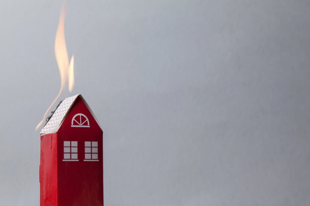 Why Homes Burn Faster Than They Used To